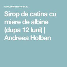 Sirop de catina cu miere de albine (dupa 12 luni) | Andreea Holban