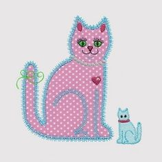 Accuquilt GO! Calico Cat Single 1 - 5x7 | What's New | Machine Embroidery Designs | SWAKembroidery.com VStitchDesigns