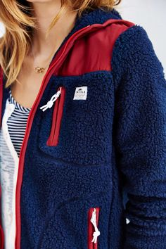 Penfield Carson Hooded Fleece Jacket