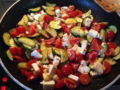 Tomaten-Zucchini-Pfanne mit Feta 4