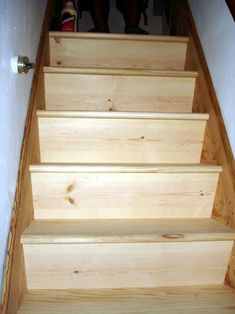 Best How To Make Wood Stairs Treads For Cheap In 2019 Wood 400 x 300