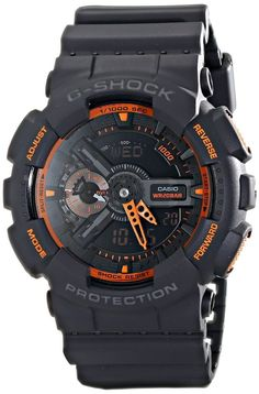Casio Mens G-Shock Analog Digital Display Watch Sport Shock Resistant Wristwatch #Casio #Sport
