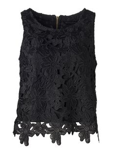 Top Autumn Winter Fashion, Fall Winter, Perfect Little Black Dress, Tank Tops, Lace, How To Wear, Outfits, Clothes, Collection