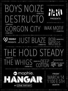 Mophie Hangar by Live Nation parties.