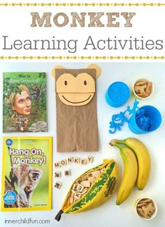 Chinese New Year (year of the monkey) -- Monkey Learning Activities -- these look like so much fun!
