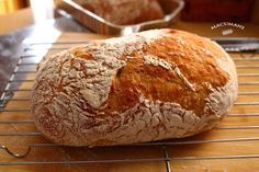 CHAPATA SIN AMASAR Bread Recipes, Cooking Recipes, A Food, Food And Drink, Pan Bread, Ciabatta, Kfc, How To Make Bread, Dried Fruit