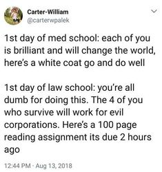33 Lawyerly Memes That Are Guilty Of Hilarity - School Funny - School Funny meme - - post about going to law school and how difficult it is The post 33 Lawyerly Memes That Are Guilty Of Hilarity appeared first on Gag Dad. Law Student Quotes, Law School Quotes, Law School Humor, Quotes For Students, Law Quotes, Middle School Memes, In Laws Humor, Legal Humor, Lawyer Humor