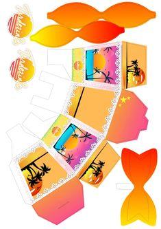 Dyi, Prints, Moana, Virginia, Bag Packaging, 14th Birthday, Pink Flamingo Party, Favor Boxes, Hamburger Box