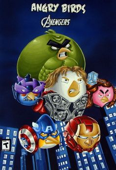 Angry Birds (2016) Avengers