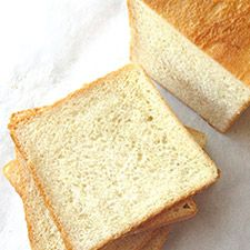 A SMALLER PAIN DE MIE A fine-textured, moist white sandwich bread baked in a special lidded pan.