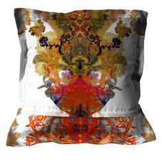 Timorous Beasties Cushions - Grand Blotch Damask. Shop - Timorous Beasties - CRAZY BEAUTIFUL things here!!!