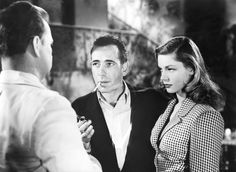 Walter Sande, Humphrey Bogart, and Lauren Bacall in To Have And Have Not (1944)