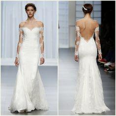 Rosa clará Barcelona bridal fashion week 201618