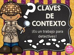 Context Clues Power Point Presentation in Spanish   If you're looking for some help in teaching Context Clues in Spanish, this presentation is what your searching for! It provides examples, definitions, practice work and even a test is includes with answer keys (that we love because we don't have the time to look for answers, that's why you are here at TpT looking for assistance).