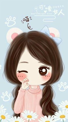 cute girly wallpapers for iphone 5 - 2018 wallpapers hd Kawaii Chibi, Cute Chibi, Kawaii Anime Girl, Kawaii Cute, Cute Cartoon Girl, Cute Love Cartoons, Cute Girl Wallpaper, Kawaii Wallpaper, Anime Quotes Tumblr