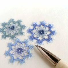 Tatting Jewelry, Lace Jewelry, Needle Tatting, Tatting Lace, Tatting Patterns, Crochet Patterns, Crochet Snowflakes, Doilies, Embroidery Stitches