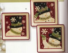 Grasslands Roads: Snowman Appetizer Plates, Set of Three Grasslands Roads http://www.amazon.com/dp/B005G49MOA/ref=cm_sw_r_pi_dp_XoJCub0TPMKKS
