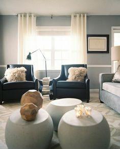 Paint Colours To Match Blue Plaid Sofa