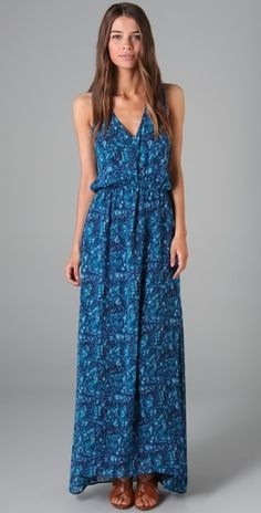 Teal maxi, I need this to get in my closet right MEOW!!