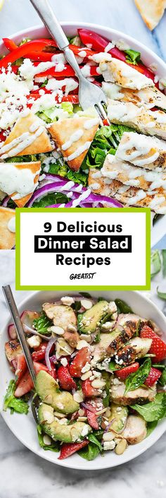 These greens taste way too good to just be sides. #greatist http://greatist.com/eat/dinner-salad-recipes