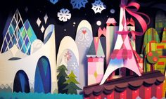 It's a Small World tribute show at Gallery Nucleus by Britney Lee