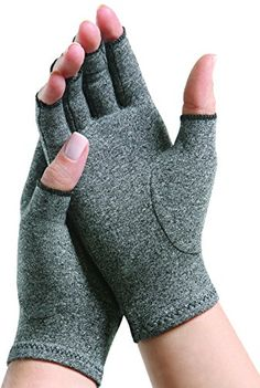 Open Finger Thumb. Arthritis Gloves Women Heat Hand Gloves for Computer Typing,Arthritic Joint Pain Relief,Outdoor Activities Men Compression Glove for Winter Warming Size : M