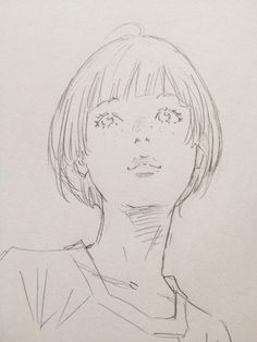 Art by 窪之内英策 Eisaku Kubonouchi* Manga Drawing Tutorials, Art Tutorials, Drawing Sketches, Drawing Tips, Drawing Faces, Manga Art, Anime Art, Character Art, Character Design