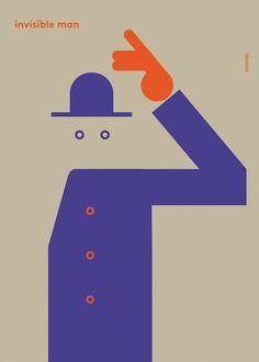 Invisible man por milimbo en Etsy, €27.00