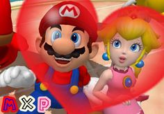 I have nothing to say I hope you like it XP Mario x Peach 235 Peach Mario, Super Mario, Otp, Nintendo, Character, Lettering
