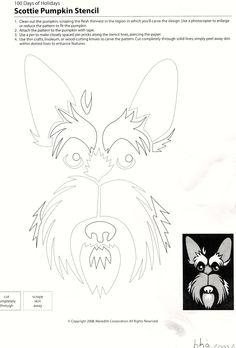 Scottish Terrier Jack O Lantern | AllTogetherChanin