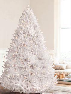 Stunning 7 1 2 Foot Wispy Willow Grande White Slim Pre Lit  - Wispy Willow Christmas Tree