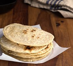 Make your own brown rice tortillas -- it's actually super easy. You might never go back to store-bought. Learn how on our blog.