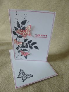 carte d anniversaire stampin up