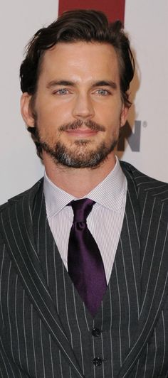 There is nothing sexier than a scruffy man. Period. Matt Bomer with scruff is like the culmination of all things hot.