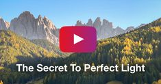 How To Get Perfect Light In Your iPhone Landscape Photos [Video Tutorial] Landscape Photos, Landscape Photography, Iphone Photography, Photo And Video, Blog, Scenery Photography, Blogging, Landscape Pictures, Scenic Photography