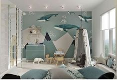 Find the perfect toddler boy room ideas right here! We have gathered 25 cute little boy room ideas just for you so you can find inspiration! Toddler Rooms, Baby Boy Rooms, Kids Rooms, Room Baby, Room Interior Design, Kids Room Design, Trendy Bedroom, Kids Bedroom, Bedroom Bed