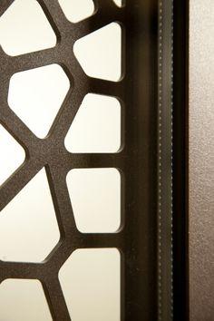 Door detail - parametric design Door Detail, Parametric Design, Doors, Metal, Interior, Indoor, Metals, Interiors, Gate