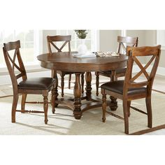Greyson Living Wyatt Old World 5 Piece Dining Set By Greyson Living