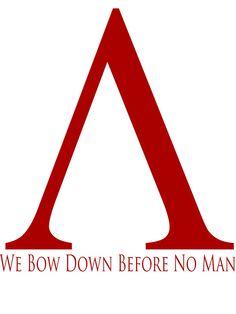 I bow down before no man