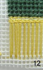 DIY project: Anna-Carin's fringing methods - 4 different types of knotting for all size carpets
