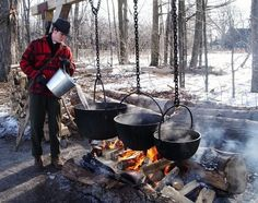 MARCH is maple syrup month. See how Syrup is made and soooooo much more! Maple Syrup Taps, Pure Maple Syrup, Sugar Bush, Burlington Ontario, The Pancake House, Homemade Syrup, Hiking Food, Spring Images, Sugaring