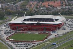 Luchtfoto AFAS Stadion AZ Alkmaar