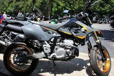 New 2016 Suzuki DR-Z400SM Motorcycles For Sale in Georgia,GA. 2016 Suzuki DR-Z400SM, 2016 Suzuki DR-Z400SM The Suzuki DR-Z400SM is a street legal bike for serious dirt bike enthusiasts on pavement roads. It's not uncommon to take the SuperMoto down twisty forest trails as well as tight canyon corners. Its 398cc liquid-cooled, four-stroke engine provides strong low-rpm torque and crisp throttle response for any of these occasions. The key difference from the DR-Z400SM and the DR-Z400S are the…