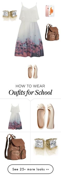 """School simple"" by gtfashionlover on Polyvore featuring Vero Moda, Aéropostale and H&M"