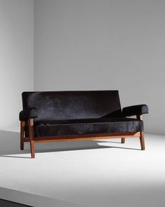 LE CORBUSIER AND PIERRE JEANNERET Sofa designed for the High Court and Assembly Chandigarh