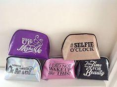 makeup bag with slogan - Google Search