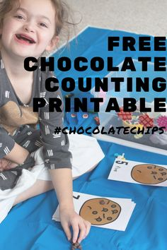 Count to 10 with your preschoolers using these fun chocolate chip counting cards in two formats. Your preschoolers will enjoy counting when it comes to using chocolate! Why? Because counting is even more fun when chocolate is involved. Use these fun free printable counting mats in your preschool math centers! #mathcenters #preschoolmath #mathforpreschool #homeschoolpreschool #preschool #kindergarten #countingto10 Engage In Learning, Learning Games For Kids, Fun Math Games, Preschool Learning Activities, Preschool Printables, Preschool Kindergarten, Homeschool Worksheets, Self Contained Classroom, Preschool Arts And Crafts