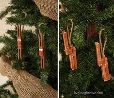 DIY Rudolph Reindeer Christmas Tree Ornament