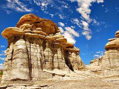 Bisti Badlands Wilderness Area, New Mexico