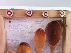 Nanna spoons, detail